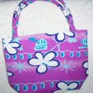 handbagbargains: Purple Flower Mini Purse