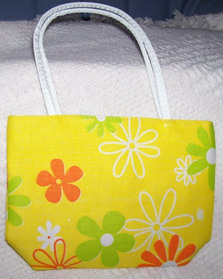 handbagbargains: Yellow Flower Handbag Retro Look