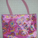 handbagbargains: Pink Retro Circles (Bubble) Purse