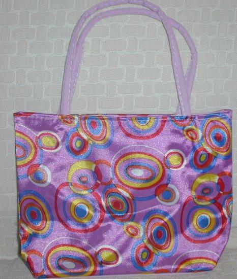 handbagbargains: Purple Retro Circles (Bubbles) Purse