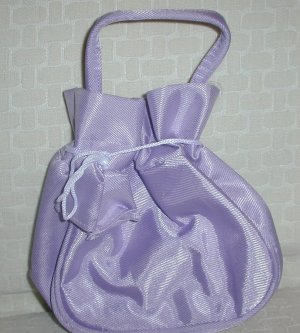 handbagbargains: Purple Drawstring Purse