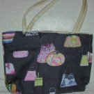 handbagbargains: Black Handbag Print Purse