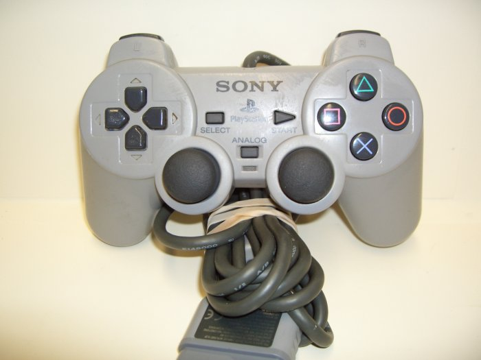 PS2 - Dual Shock 2 Analog Controller in Gray by Sony