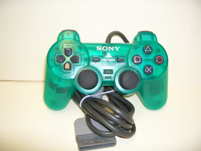 PS2 - Dual Shock 2 Analog Controller in Green by Sony