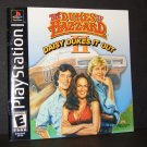 The Dukes of Hazzard Daisy Dukes it Out Instruction Manual Only for Playstation PS1