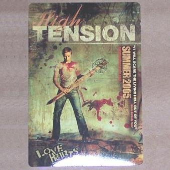 2 HIGH TENSION (2005) - Promo Stickers