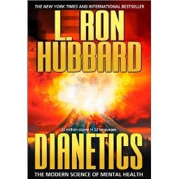 * Dianetics by L. Ron Hubbard~Paperback Like New!