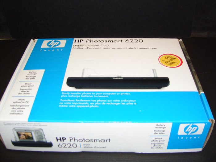HP Photosmart 6220 Digital Camera Dock New In Box!