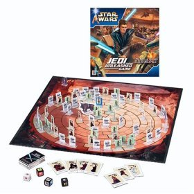 STAR WARS JEDI UNLEASHED Board Game