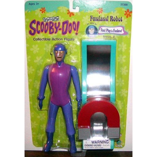 "8"" Funland Robot ~ Scooby-Doo Collectible Action Figure New In Package Series 2 (2000)"