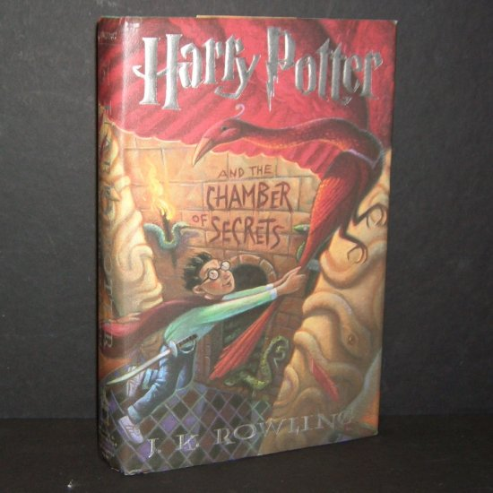 Harry Potter and the Chamber of Secrets J.K. Rowling Hardcover