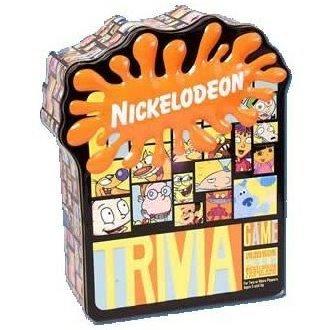 Nickelodeon Trivia Game New In Tin Box