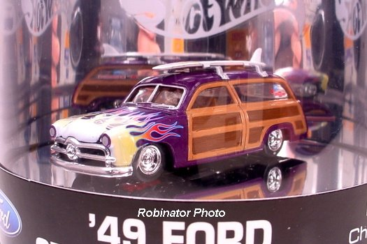 Hot Wheels 1949 Ford Station Wagon Designer's Choice Series 1 of 4