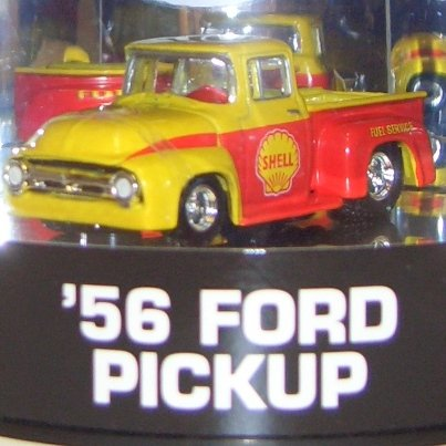 Hot Wheels 1956 Ford Pick Up Shell Truck High Test Series 1 of 4