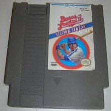 BASES LOADED II ~ Original 8-bit Nintendo NES Game Cartridge
