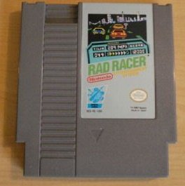 Rad Racer  Original 8-bit Nintendo NES Game Cartridge