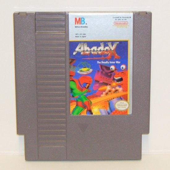 ABADOX ~ Original 8-bit Nintendo NES Game Cartridge