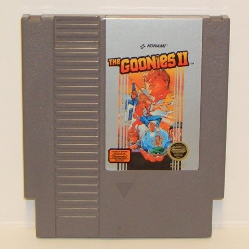 Goonies II ~ Original 8-bit Nintendo NES Game Cartridge