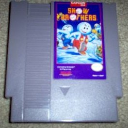 Snow Brothers VERY RARE! ~ Original 8-bit Nintendo NES Game Cartridge