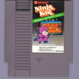Ninja kid ~ Original 8-bit Nintendo NES Game Cartridge