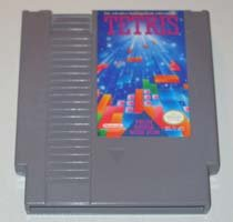 Tetris  Original 8-bit Nintendo NES Game cartridge