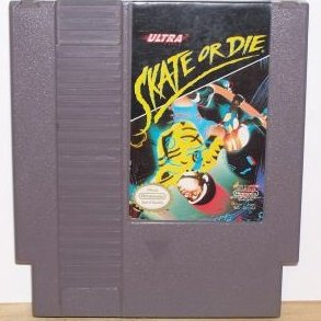 Skate or Die ~ Original 8-bit Nintendo NES Game Cartridge SOLD OUT