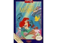Little Mermaid ~ Original 8-bit Nintendo NES Game Cartridge
