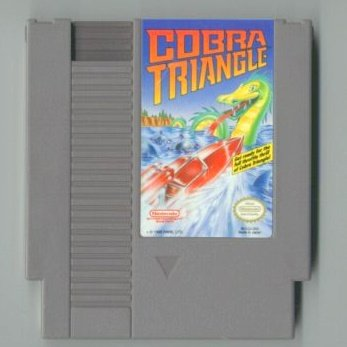 Cobra Triangle ~ Original 8-bit Nintendo NES Game Cartridge