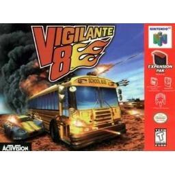 Vigilante 8 ~ N64 Nintendo 64