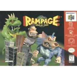 Rampage world Tour ~ N64 Nintendo 64