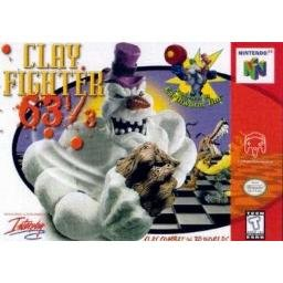 Clay Fighter 63 1/3 ~ N64 Nintendo 64