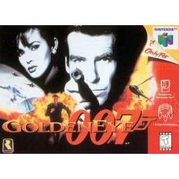 007 Goldeneye Game Cartridge Plus Instructions N64 Nintendo 64