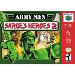 Army Men Sarge's Heroes 2 ~ N64 Nintendo 64
