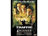 Traffic (2001, DVD) ~ Benicio Del Toro, Catherine Zeta-Jones, Michael Douglas