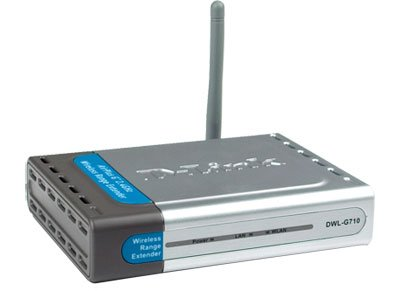 EBAY D-Link AirPlus High Speed 2.4GHz (802.11g) Wireless Range Extender DWL-G710