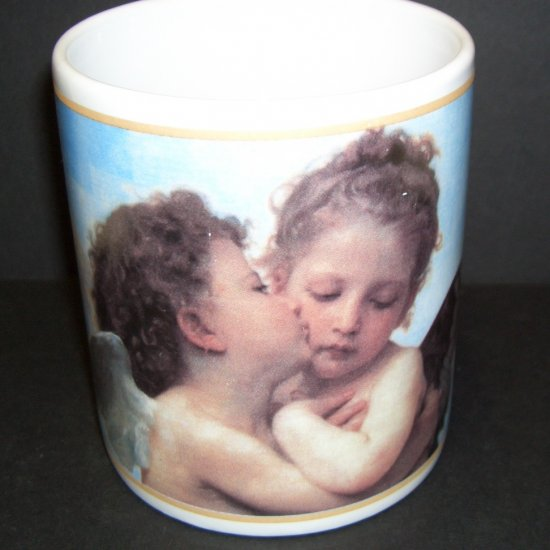 Angels Kissing, by Raphael Cafe Arts by Henriksen Imports Coffee Mug