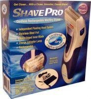 SHAVE PRO CORDLESS RECHARGEABLE WET DRY SHAVER ~ NEW IN BOX!