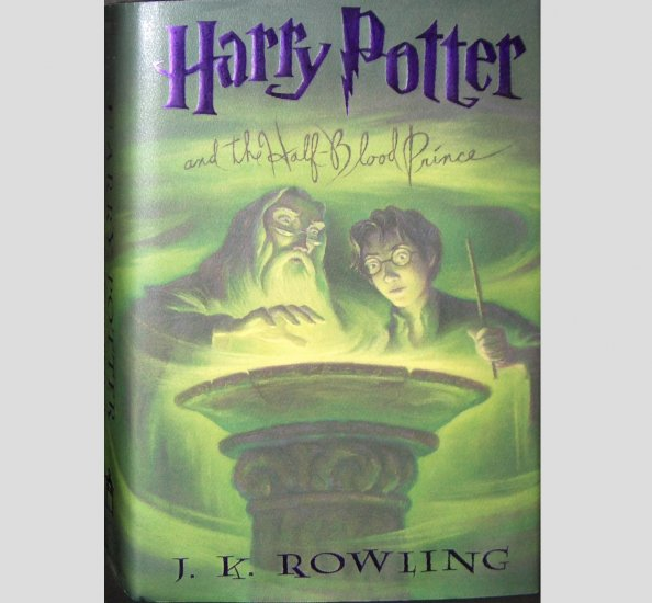 Harry Potter and the Half Blood Prince J.K. Rowling Hardcover VGC 1st Edition