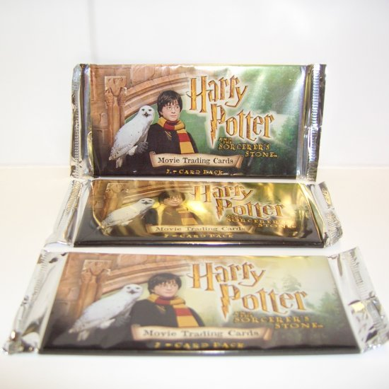 Harry Potter & The Sorcerer's Stone  Movie Trading Cards (7-Card Pack)
