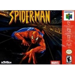 Spiderman RARE Red Cartridge ~ N64 Nintendo 64