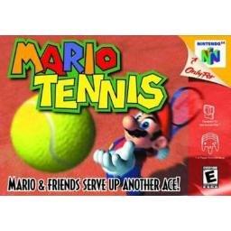 MARIO TENNIS ~ N64 Nintendo 64