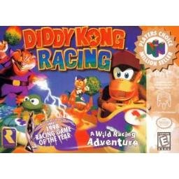 Diddy Kong Racing Game in Box ~ N64 Nintendo 64