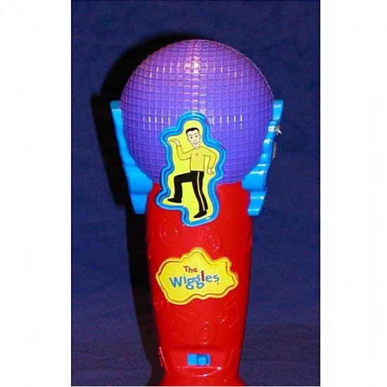 THE WIGGLES MUSICAL MICROPHONE TOY