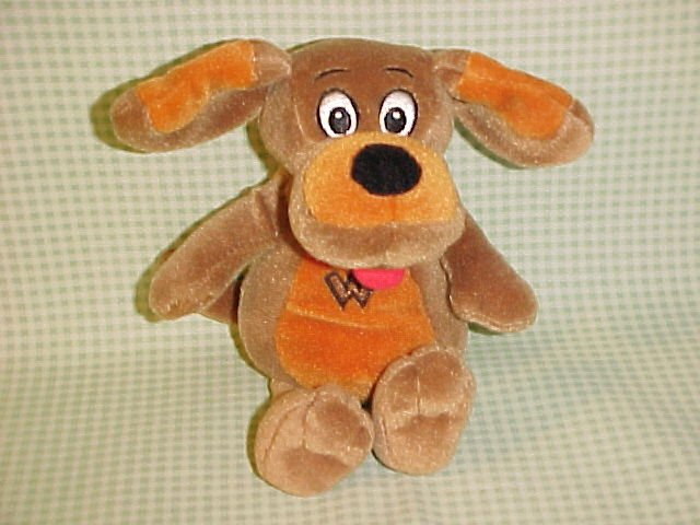 The Wiggles WAGS The dog Beanie Plush Doll 7 1/2""
