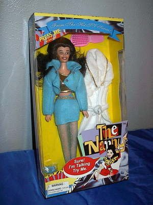 TALKING NANNY DOLL ~ FRAN DRESCHER TV SHOW ~ 1995 ~ CUTE ~New in Box