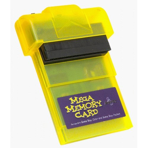 Mega Memory Card For Use with Game Boy, Game Boy Color and Pocket