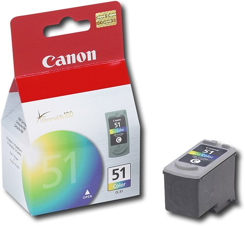 Canon 51 High-Yield Ink Cartridge - Color CL-51