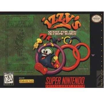 Izzy's Quest for the Olympic Rings  Super Nintendo Game