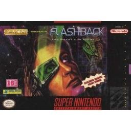 Flashback The Quest for Identity Super Nintendo Game
