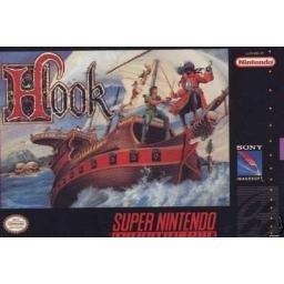 Hook Super Nintendo Game RARE